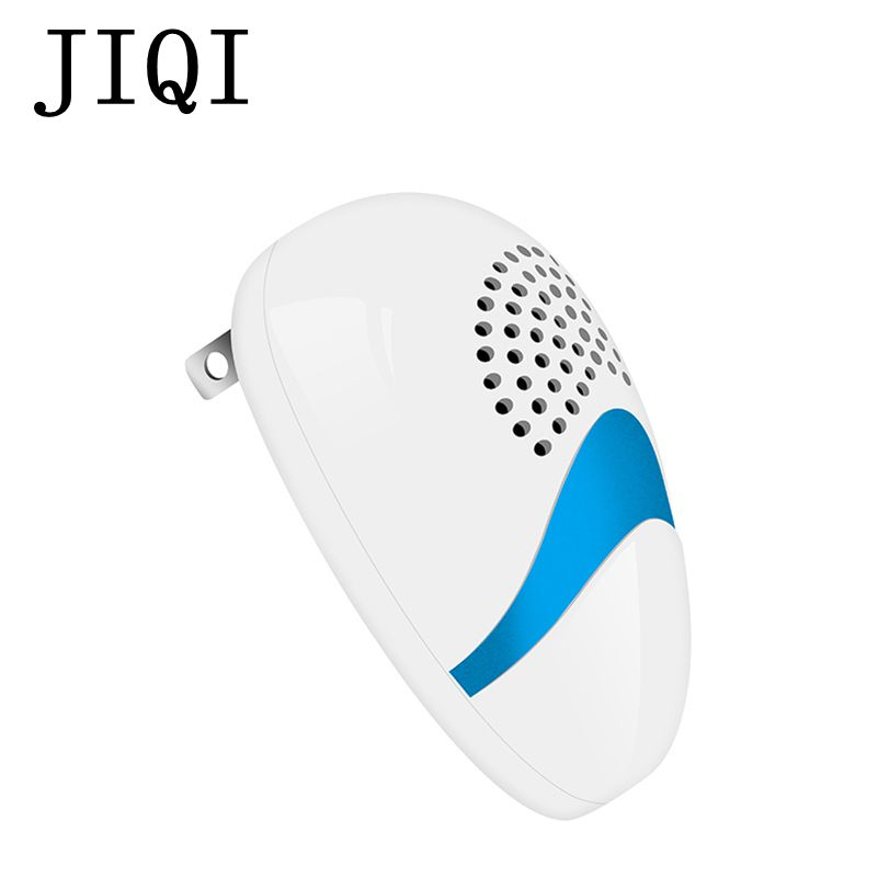 JIQI Electronic Ultrasonic Mouse Killer Mosquito Repeller Insect Rats Spiiders Rodent Control electric Cockroach Trap 110V-220V