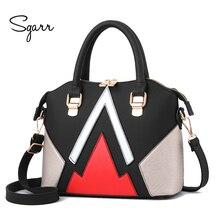 SGARR Europäischen Und Amerikanischen Stil Frauen Handtasche Mode Damen Patchwork Umhängetaschen Pu-leder Taschen Frauen Messenger Neue