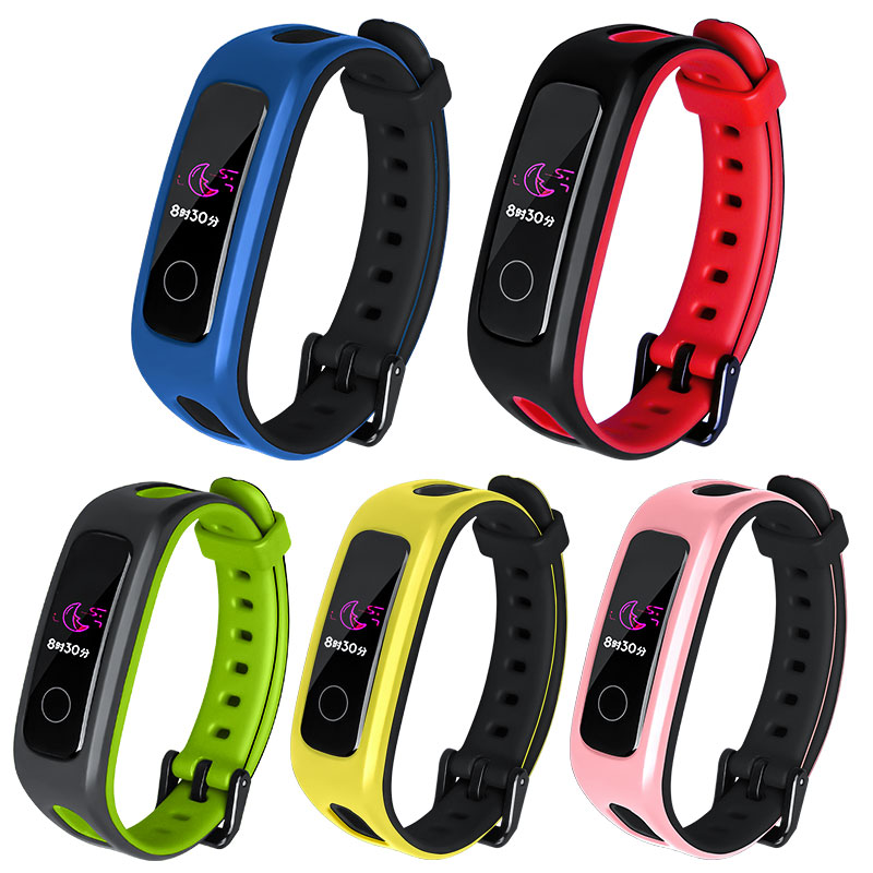 Smart Wrist Band Strap For Huawei Honor Band 4 Running Version Sport TPU Bracelet Strap Wristband Band4 Replacement Accessories