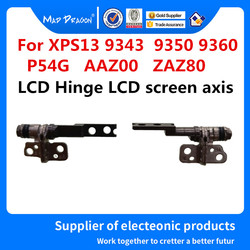 Nowy oryginalny Laptop 13.3 cal LCD zawias ekran LCD oś L + R LCD zawias dla Dell XPS 13 XPS13 9350 9360 9343 P54G AAZ00 ZAZ80 w Zawiasy LCD od Komputer i biuro na