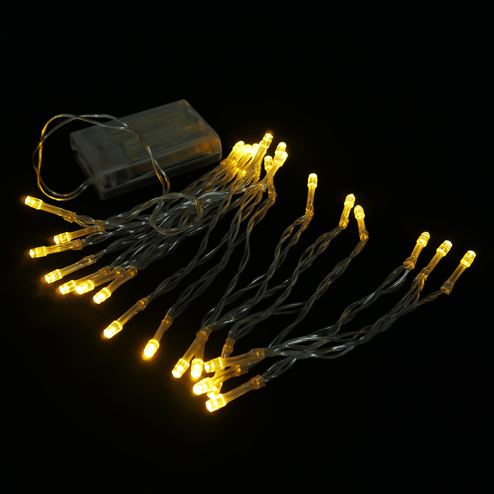 AA Battery Mini 10/20/30/40 LEDs Warm Wit Christmas String Fairy - Vakantie verlichting - Foto 2