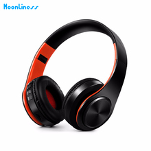Promo offer Moonliness Bluetooth Headphones Wireless Headsets Stereo Foldable Earphones with Fm Headset music Mic for Handfree Mp3 Player