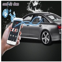 Car Alarm System Gsm network Engine Start Module Remote Control By Smartphone+Factory Key Car Cool /Warm Up For Audi A4L Q5 free