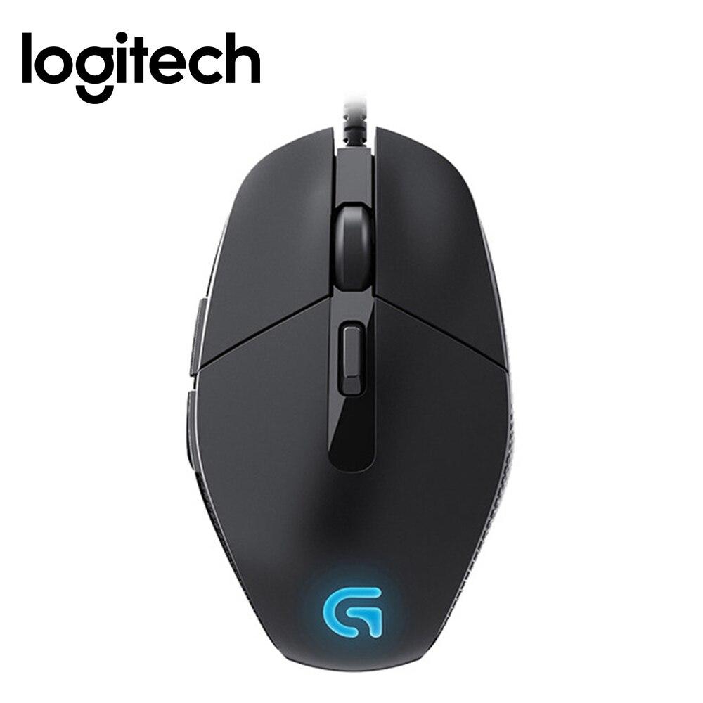 Logitech G302 Filaire Gaming Mouse avec Respirer Lumière 4000 dpi USB Interface Bureau D'appui Test pour PC Jeu Windows10/ 8/7 souris