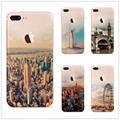Fashion Capa For iPhone 5s 7 6 6s Case Ultra Thin Soft Silicon Mountain Landscape For iphone 7 6plus Case Phone Cover Coque