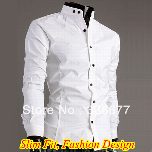 Online Get Cheap Men White Shirt Mandarin Collar -Aliexpress.com ...