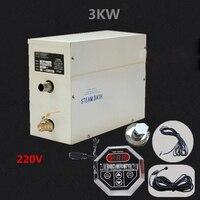 ST 30 парогенератор высокое качество дома душевая комната бытовой сауна парогенератор дома генератор паровой бани 220 В 3KW Лидер продаж