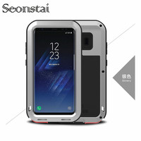 Luxury Doom Armor Heavy Duty Case Metal Case Shockproof Full Protective Cover For Samsung S8 S8plus Coque