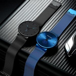 Image 4 - Readeel שעון גברים אופנה ספורט קוורץ שעון שעון Mens שעונים יוקרה מקרית מלא פלדה עמיד למים שעוני יד Relogio Masculino