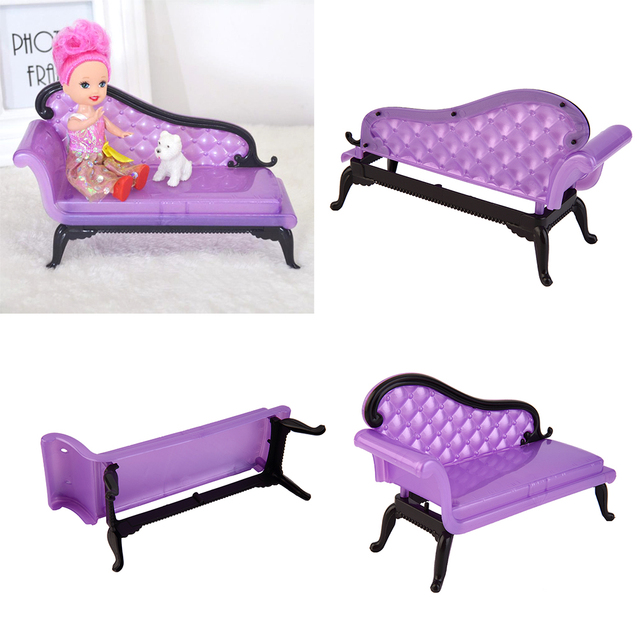 Sofa Chair For Baby Girl How To Clean Cushion Foam 2017 Kids Princess Dreamhouse Furniture Toys Doll Accessories