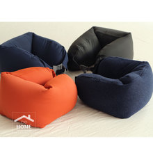 2017 behome High quality Nylon U shape Travel Neck Pillow Side Sleepers Neck Cushion