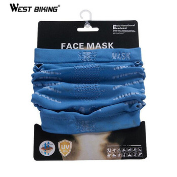 WEST BIKING Multifunction Magic Face Mask Protection Scarf Outdoor Sport Riding Hiking Bike Bicycle Cycling - discount item  50% OFF Cycling