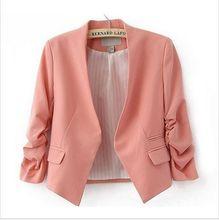 Puff основные blazer бренда кардиган пиджак случайный дамы куртка женский пальто