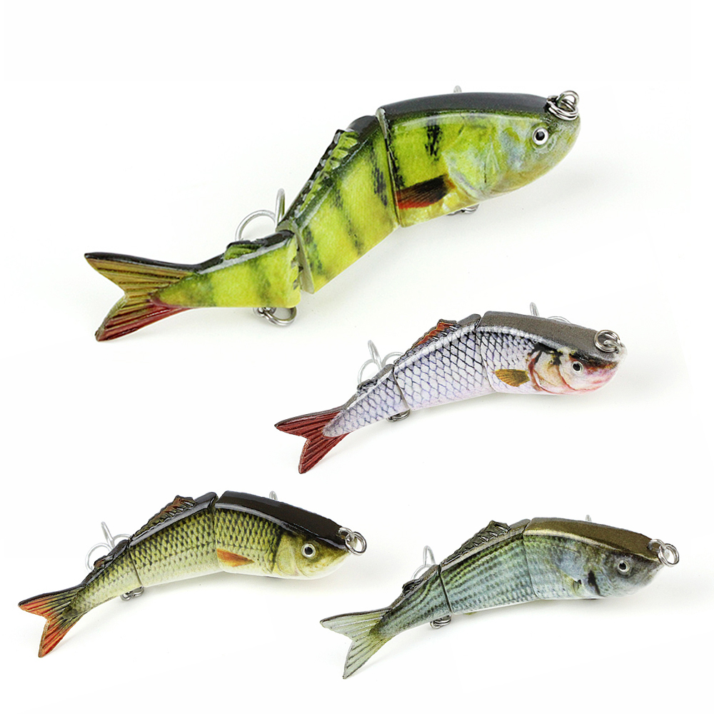 Mmlong 3.2/7.9g Popular Artificial Fishing Lure 3 Segment Lifelike Crankbait Slow Sinking Hard Fish Bait Tackle Pesca MML03B-2 mmlong 12cm realistic minnow fishing lure popular fishing bait 14 6g lifelike crankbait hard fish wobbler tackle pesca ah09c