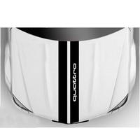 YONGXUN For Audi Bonnet Racing Stripes Graphics Stickers TT Quattro S 0215