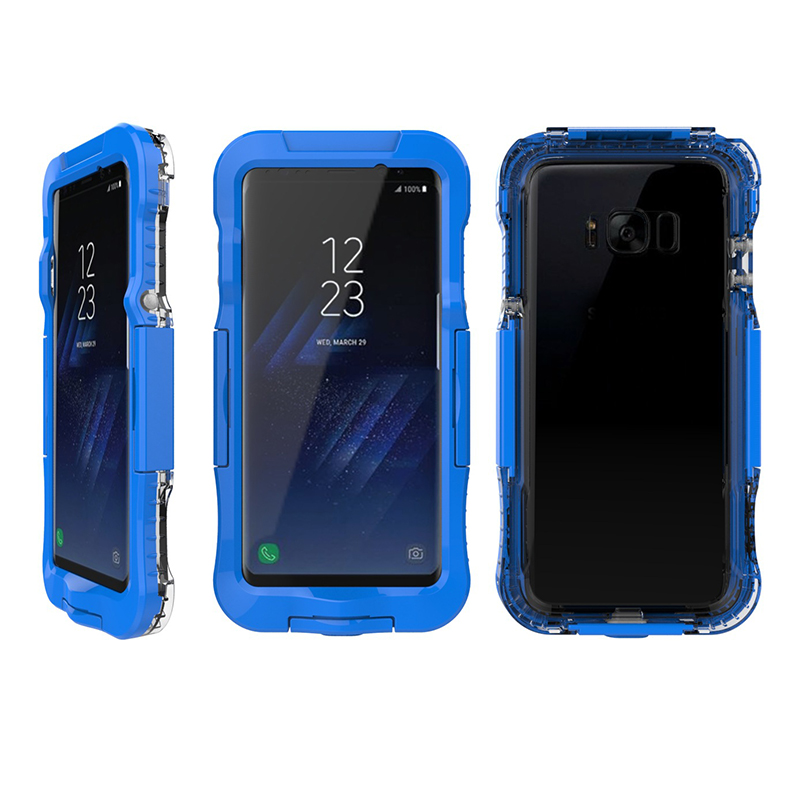 AILKIN Newest Waterproof Case for Samsung Galaxy S8 S8 Plus Kickstand Armor Cover for SM-S8 Plus Swimming Phone Case Protector (3)