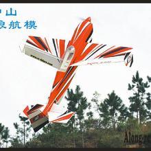 """PP самолет из пеноматериала размах крыльев 3"""" 15E самолет Edeg540t 3D PP самолет RC 3D модель ру аэроплана хобби игрушки(есть набор или PNP набор"""