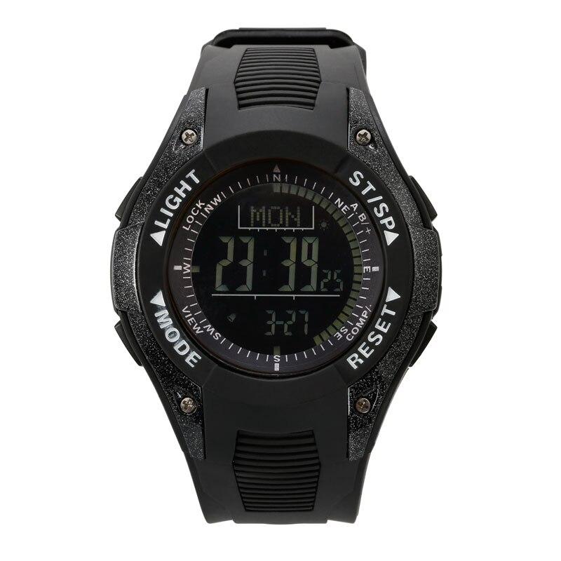 SUNROAD männer Multifunktions Sport Digitale Armbanduhr Wandern Höhenmesser Barometer Thermometer Wetter Prognose Schwimmen Uhren-in Digitale Uhren aus Uhren bei  Gruppe 1