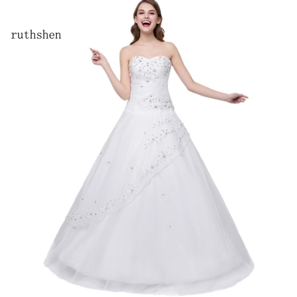 ruthshen Cheap Quinceanera Ball Gowns Vestidos De 15 Anos Sequins Beaded Embroidery Sweet 16 Girls Masquerade