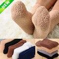 1 пара необычных очень уютных кашемировых бархатных носков для мужчин и женщин, зимние теплые носки для сна и пола для дома