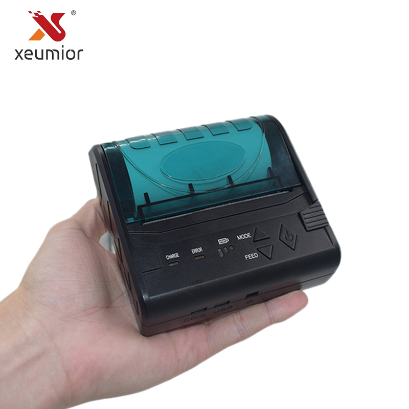 SM-8003BT Cheap 80mm Portable Mini Mobile Android Ios Bluetooth Printer Mini Thermal Receipt Printer Handheld Pos Printer freeshipping mini bluetooth thermal printer 80mm receipt ticket printer pos printer machine for thermal printer android ios