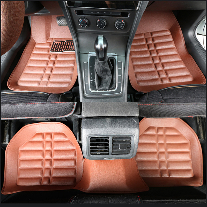 Universal car floor mats for Chrysler Voyager 300c 300s Sebring PT Cruiser Grand Automobiles auto accessories car mats