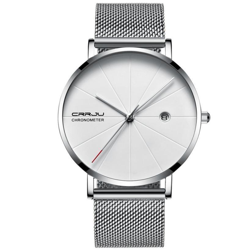 7mm Thick Fashion Business Super Thin Waterproof Mens Watch Womens Watch Gift Relogio Masculino Watch Men Reloj Hombre Bayan
