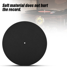 1PCS Ultra-thin Anti-static Vinyl Turntable Record Pad Antistatic Flat Soft Mat Slipmat Mat Pad