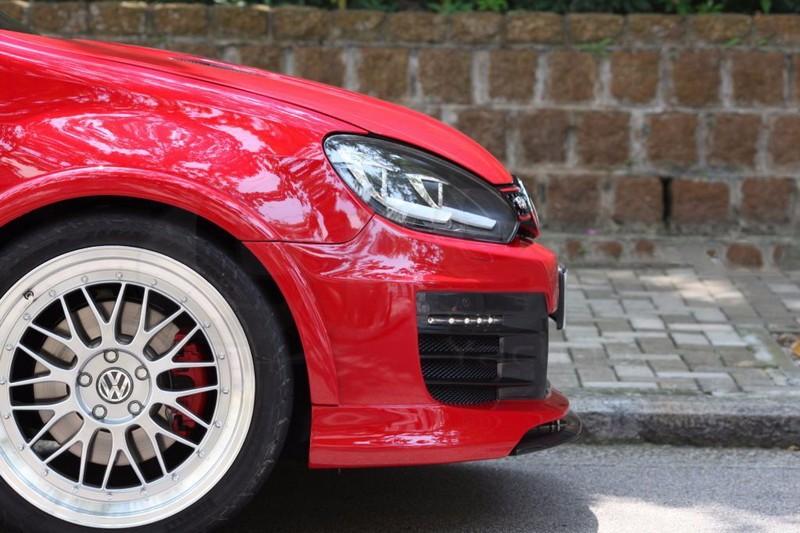 2009-2012 VW Golf MK6 GTI R20 Revozport RAZOR Style Fender Flare (8 Pcs) FRP (10)