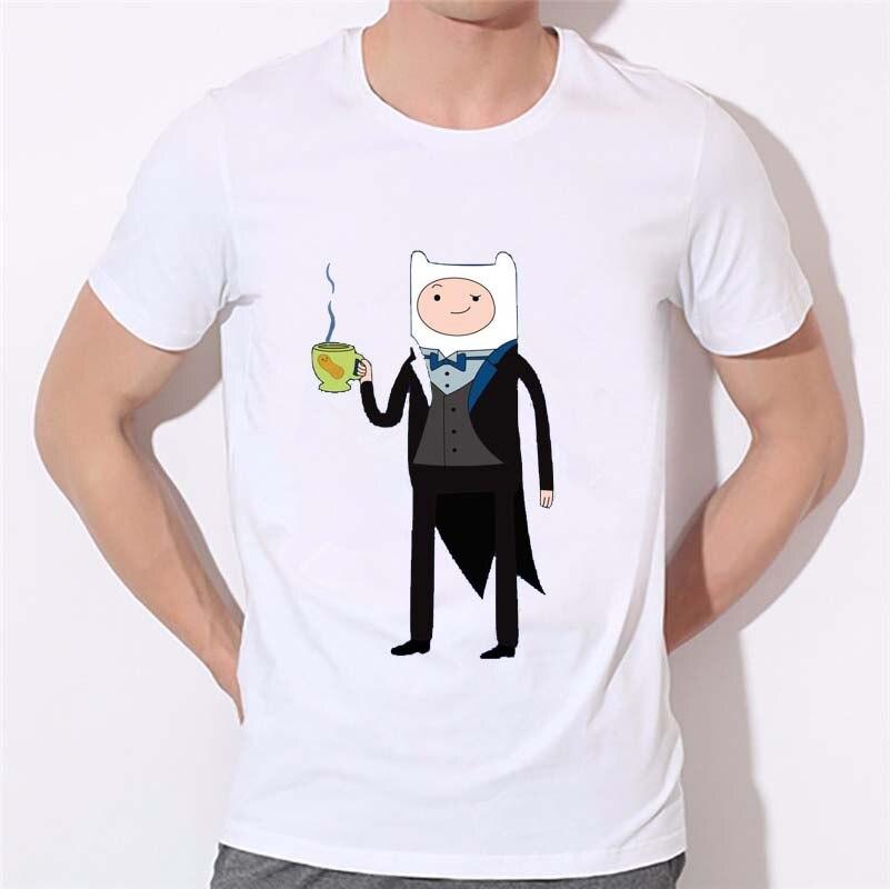 Смокинг для мальчиков Jack Футболка с принтом хип-хоп Для мужчин 3D футболки время приключений с Повседневное уличные футболки для мужчин мужс...