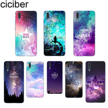 ciciber Starry sky Northern Lights For Huawei P20 P10 P9 P8 Pro Plus Lite 2017 Soft TPU Silicone Clear Phone Cases Fundas Coque