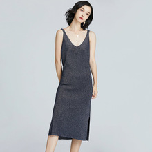 2018 Summer high slit sleeveless Sexy Dress Woman longa Robe Femme Vestidos Plus Size Xl Sexy Dress woman Casual Vest Dresses