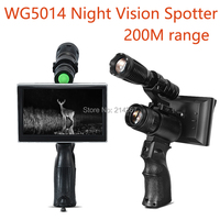 850nm Black IR Infrared Night Vision Sights WG5014 NV Spotter 50mm Lens Night Security Cameras Hunting Night Vision Scope
