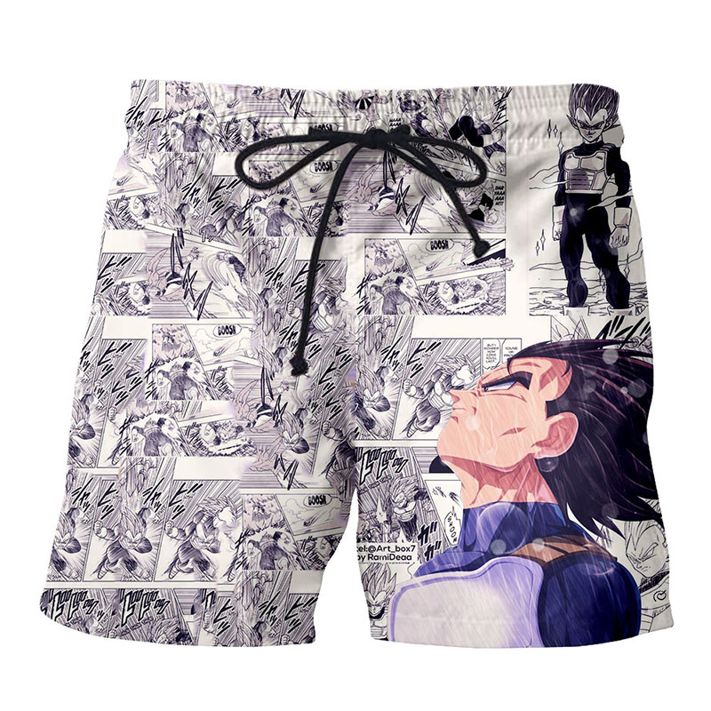 Dragon Ball Board   Shorts   Beach Summer Men Luffy Vegeta 3D Print Sport Anime Surfing Trunks Swimwear Super Saiyan   Short   Pants