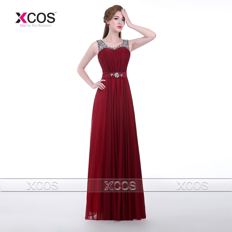 online buy wholesale burgundy evening gowns from china