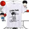 New afundanço Rukawa Kaede t-shirt Cosplay japão Anime homens camiseta de algodão t-shirt verão