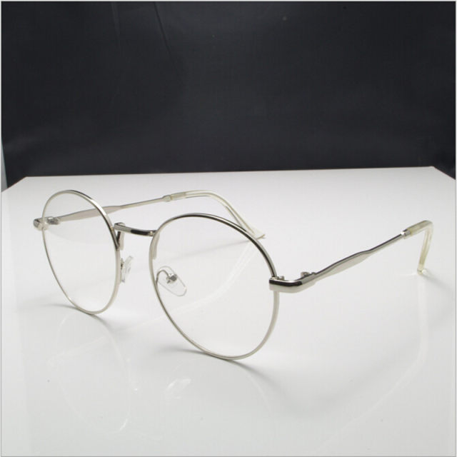 Online Shop New high quality antique retro round eyeglasses metal ...