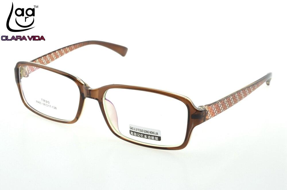 Große Retro TR90 Ultraleichte Speicher Nerd Brille Rahmen Nach Maß ...