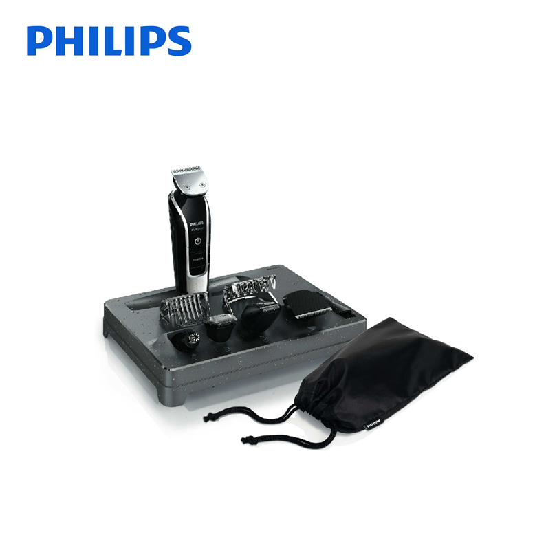 Philips Electirc Shaver QG3371 Rechargeable with Lithium Battery Nose Hair Trimmer Support Whole Body Washing for Men's Razor qg vip 33