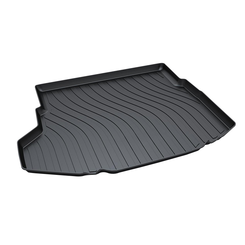 Trunk Tray Mat for Ford TAURUS Durable Waterproof Boot Carpets Cargo liner Cover trunk mat for ford mondeo 2008 2014 durable waterproof luggage mats tray for dogs