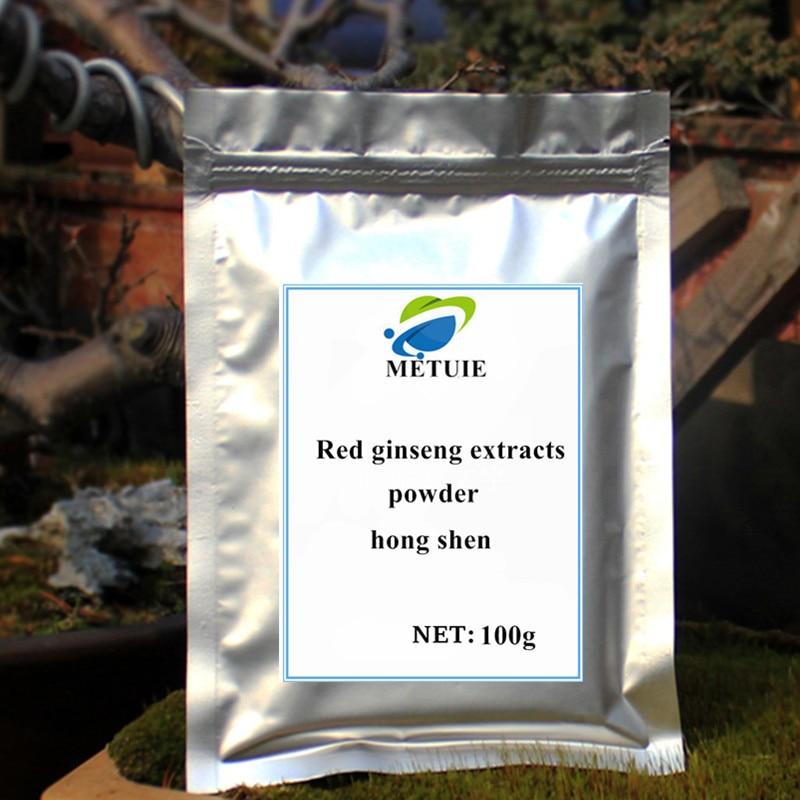 Assurance 6 année rouge ginseng racine extrait poudre Rouge extraits de ginseng Bonne qualité, livraison gratuite