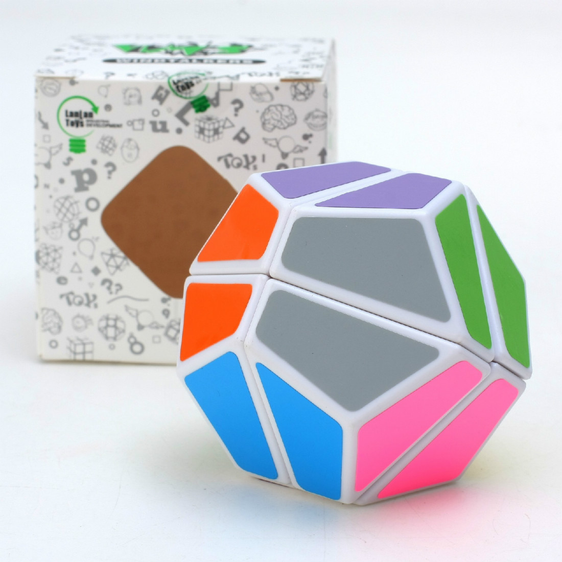 Lanlan LL 2x2x2 Magic Cube Speed Puzzle Game Cubes Educational Toys For Kids Children Birthday Gift