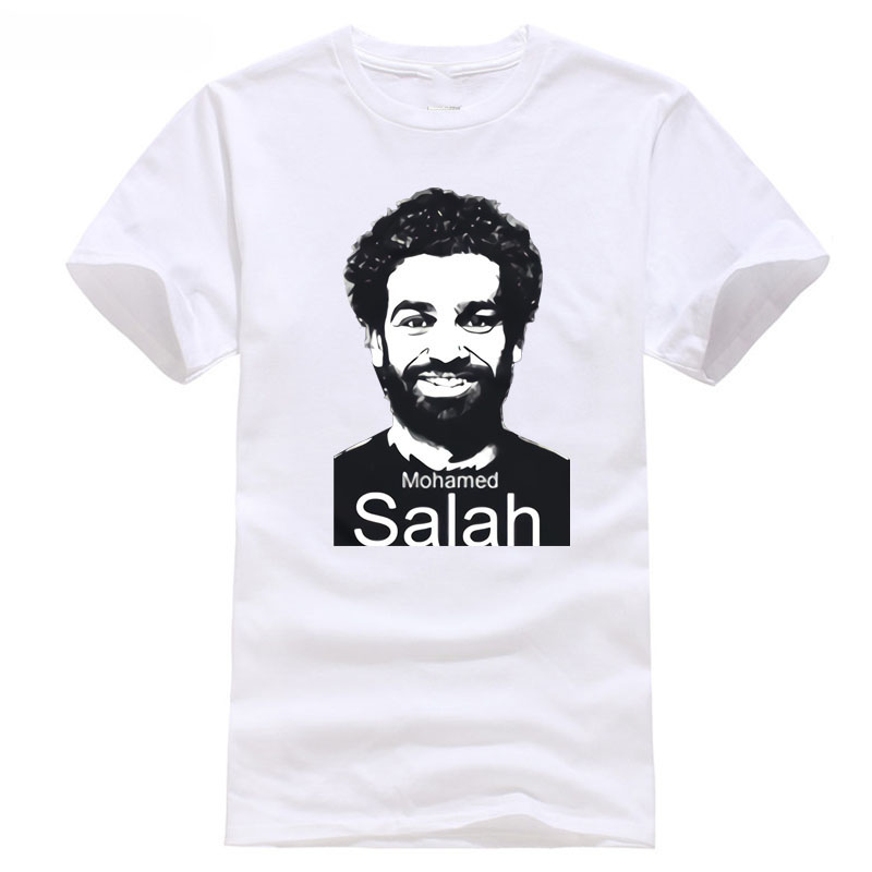 footballer soccersing cup 2018 champions NO.11 and world liverpool league Egypt player NO.10 salah T shirt