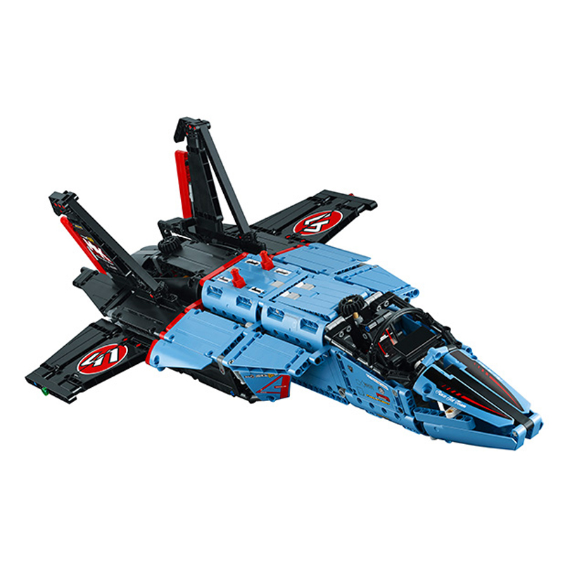 Lepin 20031 1151pcs Jet Racing Aircraft Air Race Model building blocks Bricks toys for children Compatible Lego Technic 42066 compatible with lego technic creative lepin 24011 1344pcs 3 in 1 highway transport building blocks 6753 bricks toys for children