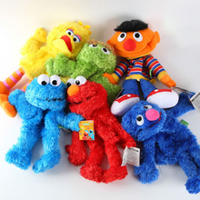 Cartoon Sesame Street Hand Puppet Fantoche Doll Large Puppet Soft Plush Toy For Children Kids
