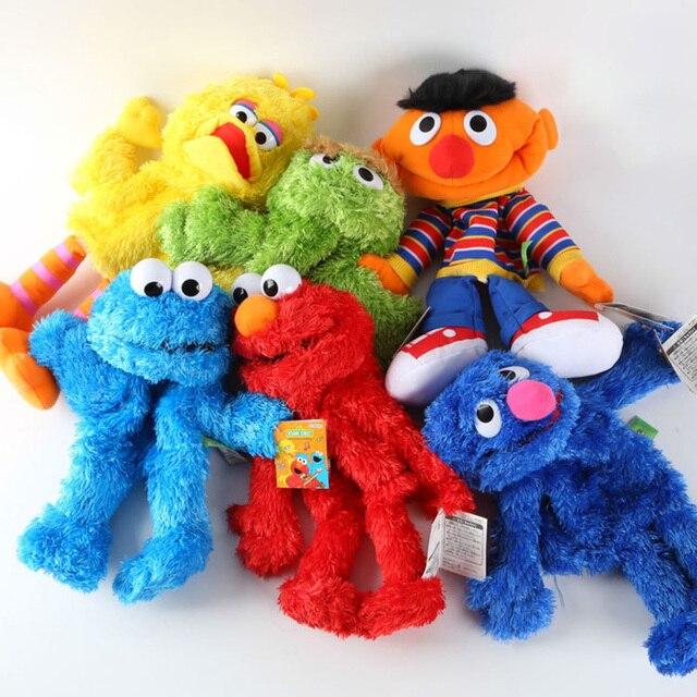 Мультфильм Улица Сезам Марионетка Fantoche Кукла Большой Кукольный Мягкие Плюшевые Игрушки Для Детей Kids