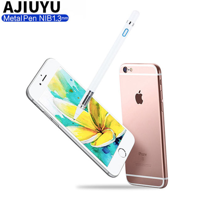 new products 772d8 5660b Pen Active Stylus Capacitive Touch Screen For Apple iPhone X 8 Plus ...