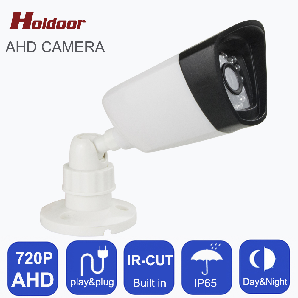 Holdoor HD AHD 720P Analog IR Indoor Waterproof Bullet IR-CUT 1.0MP Camera Night Vision AHD CCTV Camera home surveillance system deck mounted kitchen sink faucet 360 degree swivel hot and cold water mixer tap oil rubble bronze black faucet