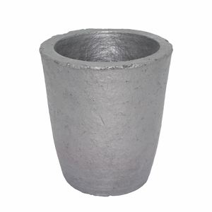 Image 2 - 6# Silicon Carbide Graphite Crucibles for Carbide Furnace Coke Oven Electric Furnace Torch Melting Casting Refining Gold Silver