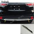 Автомобильный Стайлинг  защитная накладка на бампер  накладка на задний хвост  нижняя вытяжка  1 шт.  для Toyota Highlander 2018  2019  2020